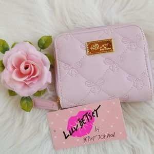 🆕️ Betsey Johnson Blush Coin Wallet